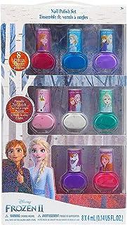 My Party Suppliers Disney New Frozen 2 Elsa Nail Design Art Set Decoration for Girls Polish Peelable