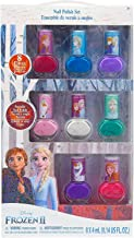 My Party Suppliers Disney New Frozen 2 Elsa Nail Design Art Set Decoration for Girls Polish Peelable