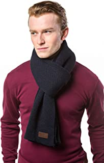 Gallery Seven Winter Scarf for Men, Soft Knit Scarve, in an Elegant Gift Box