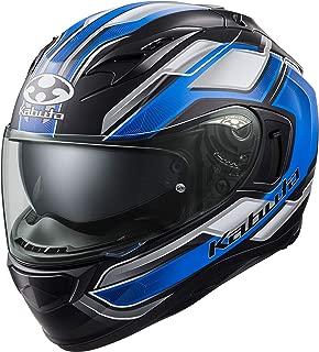 オージーケーカブト(OGK KABUTO)バイクヘルメット フルフェイス KAMUI3 ACCEL(アクセル) フラットブラックブルー (サイズ:XL) 585907