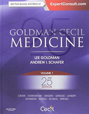 Goldman-Cecil Medicine, 2vol-set, 25th edition