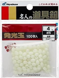 ハヤブサ(Hayabusa) 発光玉 ハード100入 原色 P421-4