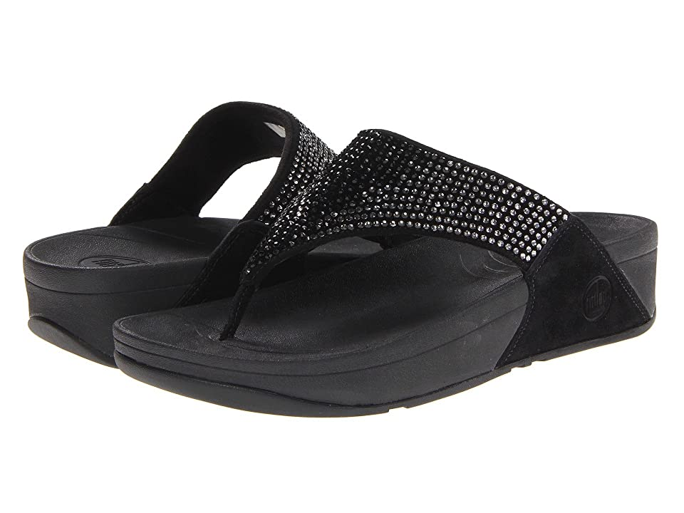 FitFlop Flaretm Leather (Black Leather) Women