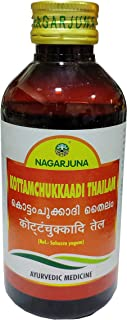 Nagarjuna Kerala Kottamchukkaadi Thailam 200 ml x Pack van 1
