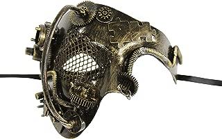 INC Steampunk Phantom of The Opera Mechanical Venetian Masquerade Mask