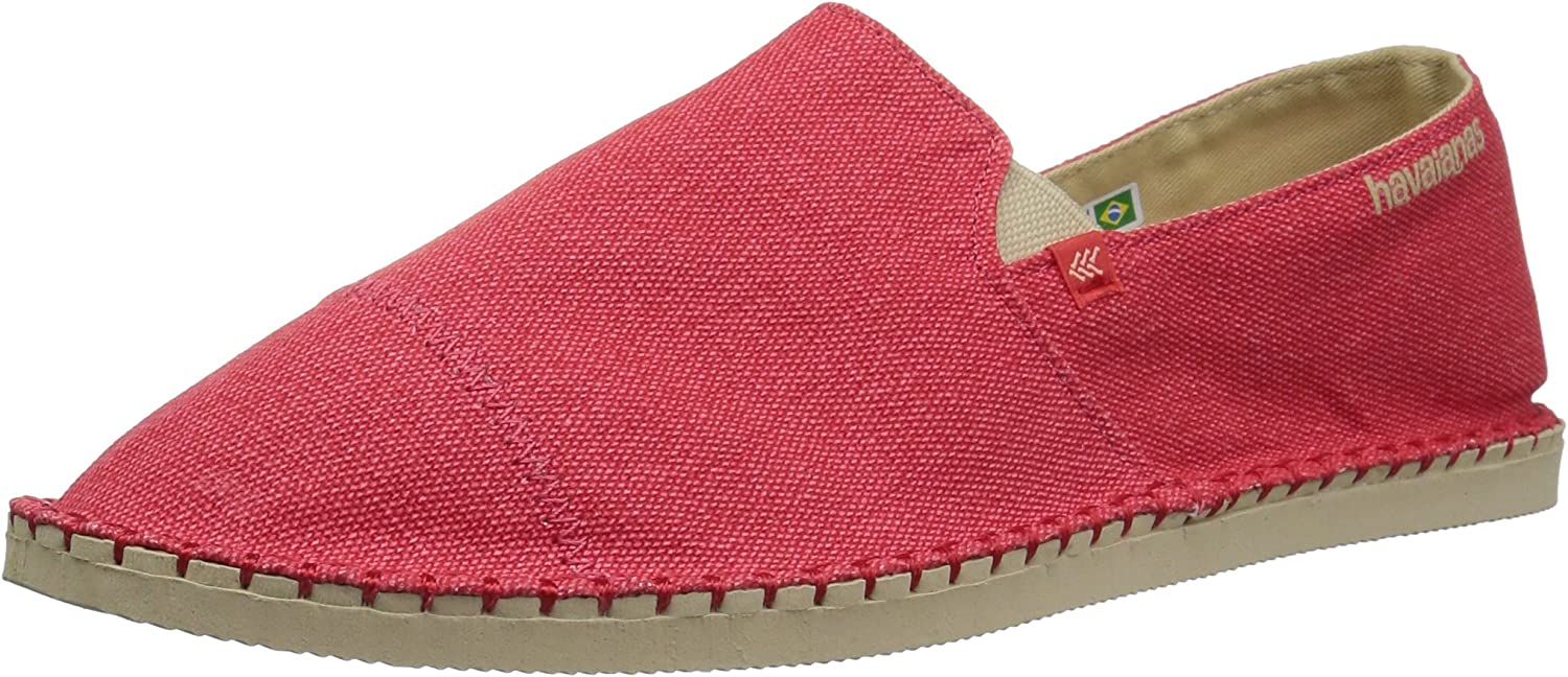 Havaianas Men's Origine Yacht Cal Espadrille Red