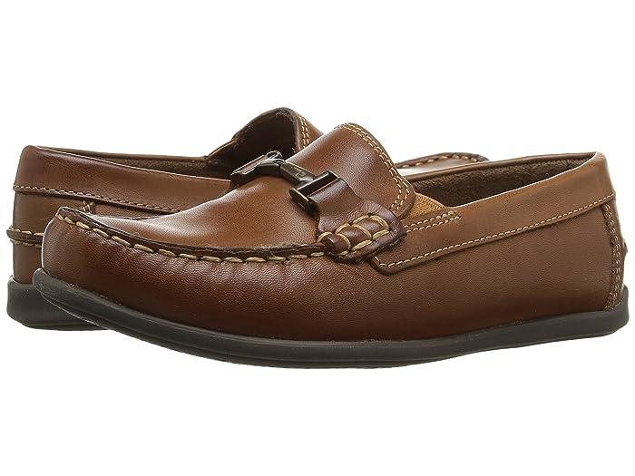 Florsheim Kids  Jasper Bit, Jr. Loafer (Toddler/Little Kid/Big Kid) (Saddle Tan) Boys Shoes
