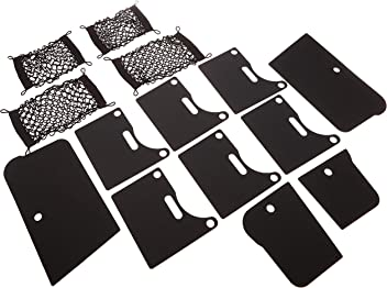 1 Pack Mopar 82212692 Black Front End Cover