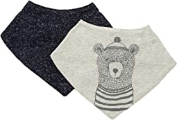 Bear Bandana Bibs Two-Piece Set (Infant)