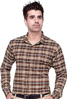 Cotton Leaf Apparels Mens Casual Checks Shirt