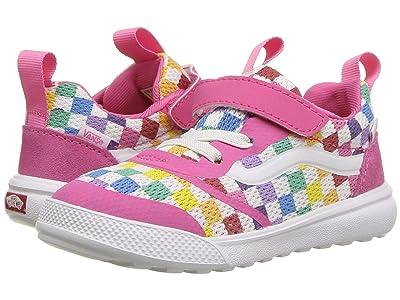 Vans Kids UltraRange Rapidweld (Infant/Toddler) ((Checkerboard) Rainbow/True White) Girl