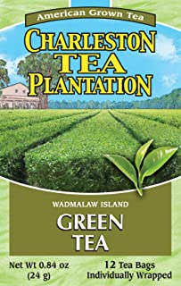 American Classic Pyramid Teabags, Island Green, 12 Count