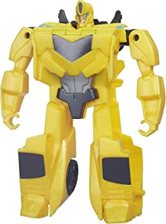 Transformers Robots in Disguise 1-Step Changers Patrol Mode Bumblebee Figure