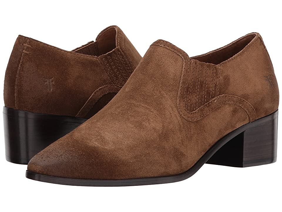 Frye Eleanor Western Shootie (Chestnut Soft Oiled Suede) Women