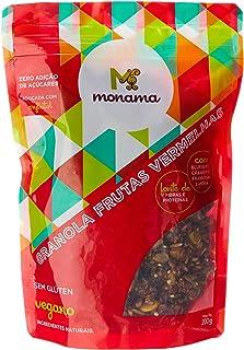 Granola Frutas Vermelhas sem Glúten sem Açúcar Monama 200g