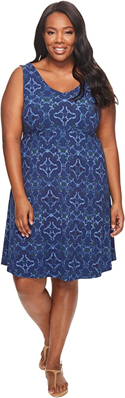 Extra Fresh by Fresh Produce - Plus Size Tile Play Olivia Dress