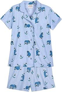 2 Piece Coat Top Character Pajama Short Sets