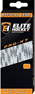 PRO-X7 Wide Molded Tip Cotton Hockey Skate Laces (Color, Size Choice)