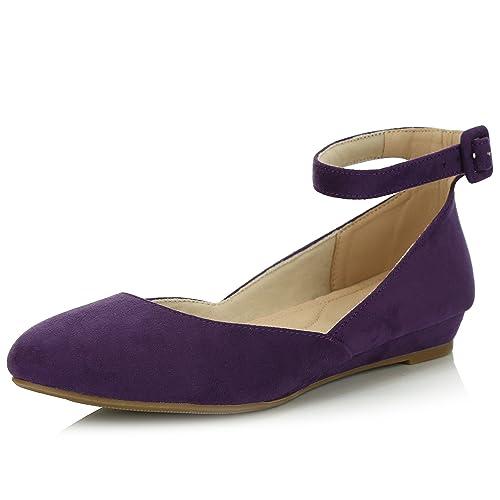 Purple Wedges Amazoncom