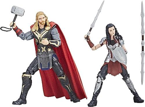 envío rápido en todo el mundo Hasbro Marvel Studios  The First Ten Years Thor Thor Thor  The Dark World Thor and SIF  productos creativos