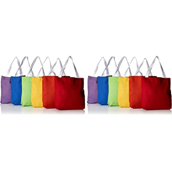 Rhode Island Novelty Bright Tote Bags 12 per Unit