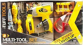 Lanard Tuff Tools Multi-Tool Pwr Drill Toy Figure Tools, 15.00 x 3.50 x 8.00