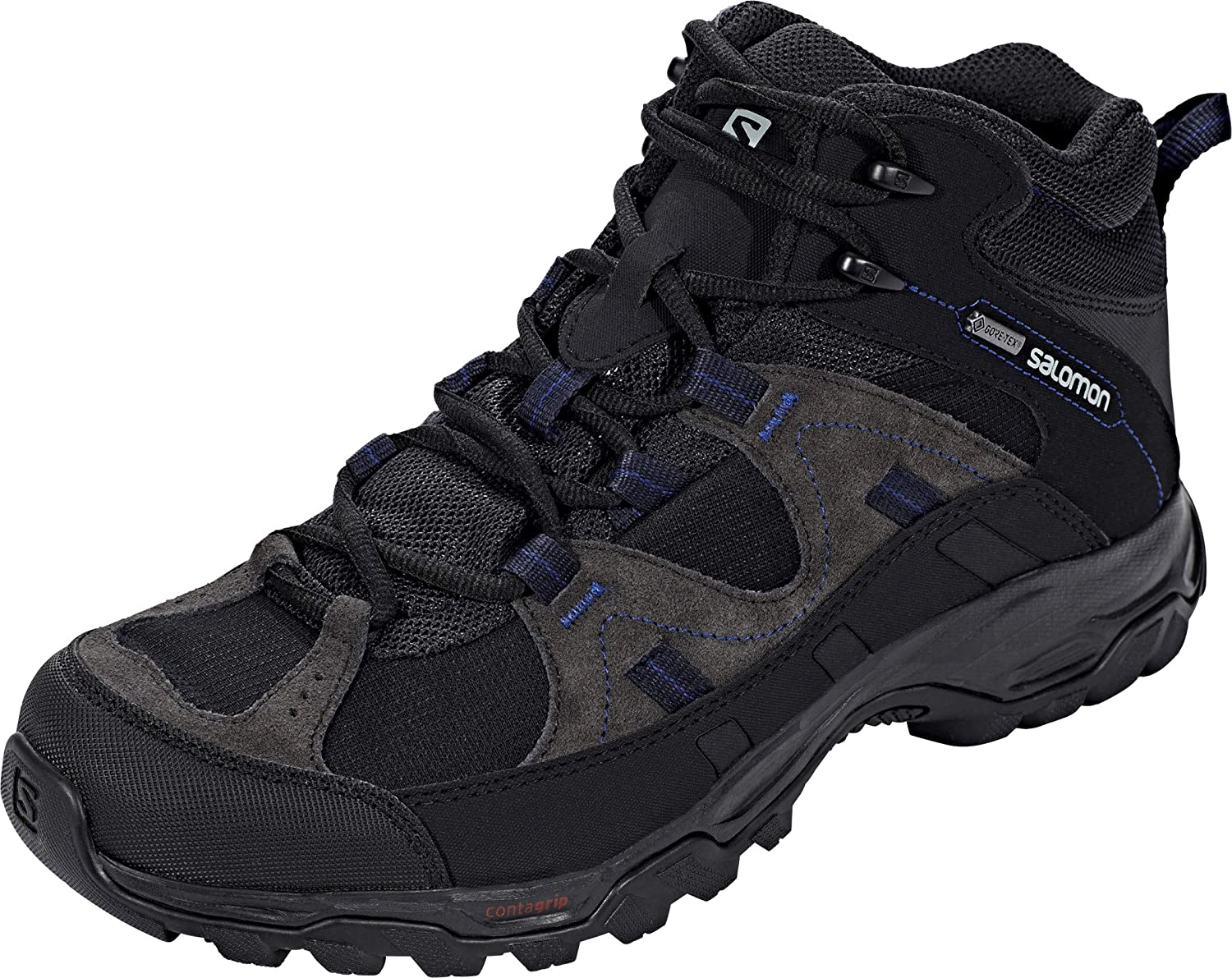 SALOMON Meadow GTX shoes Men Black shoes Size 44 2 3 2017