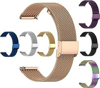 Femme Bracelet de Montre pour Fossil gen 5 Femme Bracelet en Acier Inoxydable 22MM