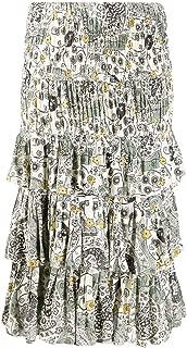 ISABEL MARANT ÉTOILE Luxury Fashion Womens JU109220P024EECAL Multicolor Skirt |