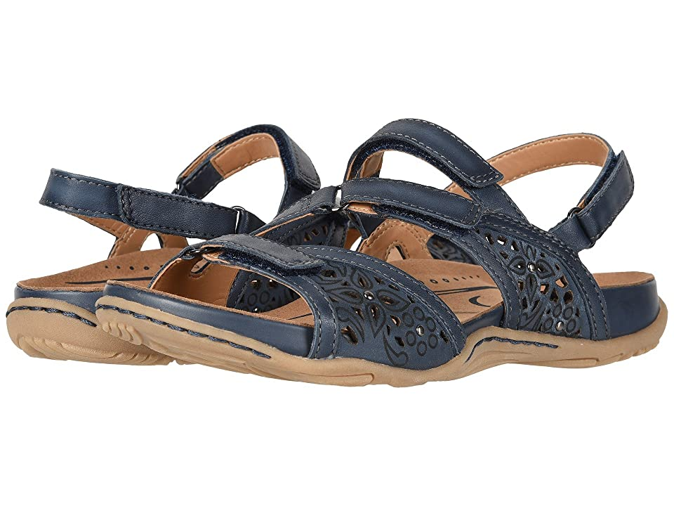 Earth Maui (Indigo Blue Soft Burnished Leather) Women