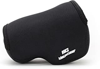 MegaGear ''Ultra Light'' Neoprene Camera Case Bag for Sony NEX-6, Sony NEX-7, Sony NEX-F3 with 16-50mm Lens (Black)
