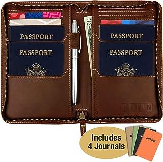 Best leather travel wallet passport Reviews