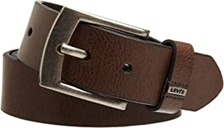 Levi's Boys Big Kids Belt - School Casual for Jeans Classic Strap and Single Prong Buckle
