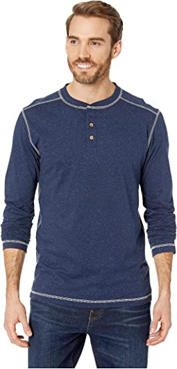 Speckled Jersey Henley