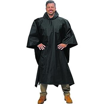 Galeton Repel Rainwear XL Poncho .22mm EVA Black (Big and Tall) 12714-BK