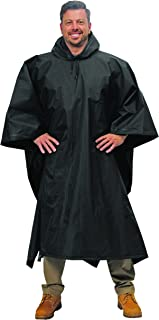 Galeton 12714-BK Repel Rainwear XL & Tall .22mm EVA Poncho (Big & Tall), Black