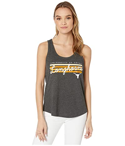 289c Apparel Texas Longhorns Ellen Tank (Heather Black) Women