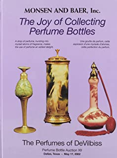 The Joy of Collecting Perfume Bottles: Monsen and Baer Perfume Bottle Auction XII