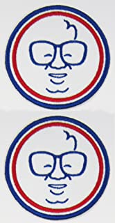 2pk ~ Harry Carry Cubbie 3in Instant Fan Patches