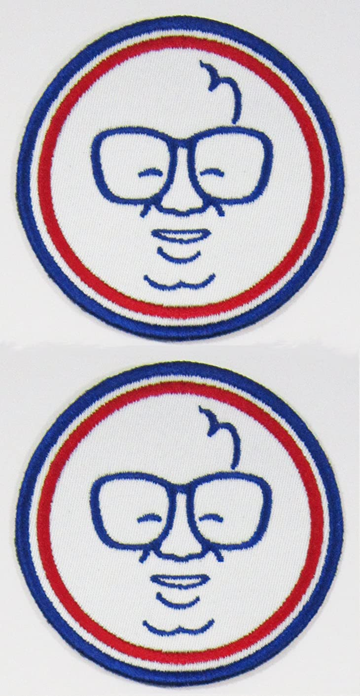 2pk ~ Harry Carry Cubbie 3in Instant Fan Patches