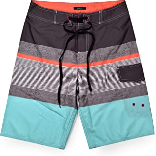 Men's Bathing Suits with Mesh Liner Quick Dry Swim Trunks with Pockets