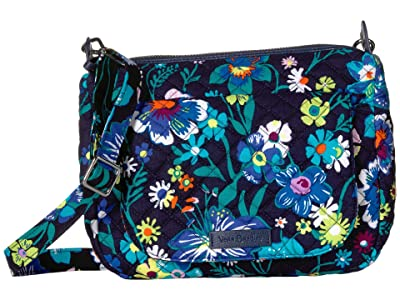 Vera Bradley Carson Mini Shoulder Bag (Moonlight Garden) Cross Body Handbags
