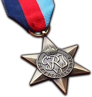 1939-1945 Star Medal WW2 Highest British Military Medal For | Army | Navy | RAF | Replica George VI