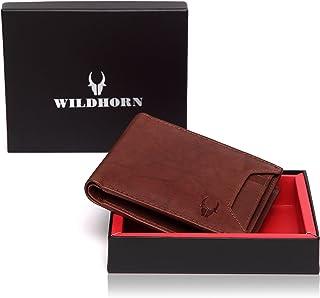 WildHorn Brown Men's Wallet (WH2019)