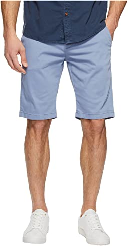 Jacob Shorts in Stone Washed Twill