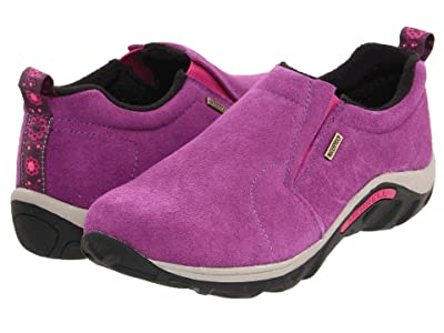 Merrell Kids Jungle Moc Frosty Waterproof 2 (Toddler/Little Kid/Big Kid) (Wineberry) Girls Shoes