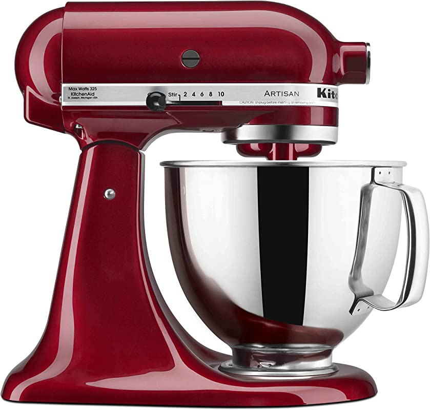 KitchenAid KSM150PSGD Artisan Stand Mixers 5 Quart Grenadine