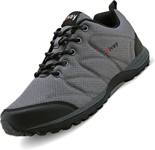 Vivay Men's Hiking Shoes Outdoor Athletic Sneakers Running Shoe