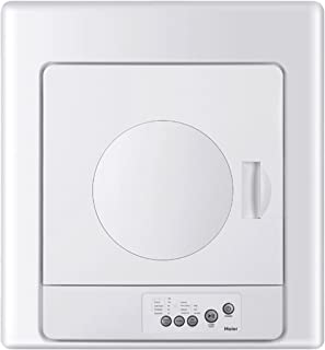 Haier HLP141E 2.6 cu. ft. Compact Electric Vented Dryer with Zinc Coated Drum and Electronic Controls