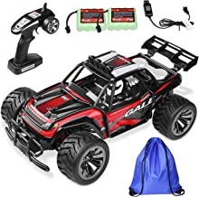 RC Car Remote Control Car RC Buggy Racing Truck- 2 WD 2.4Ghz Off-Road 1:16 RC Car with 2 Rechargeable Battery &Storage Bag